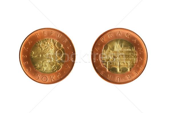 Czech Coin Stock photo © cosma