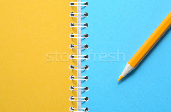 Yellow And Blue Stock photo © cosma