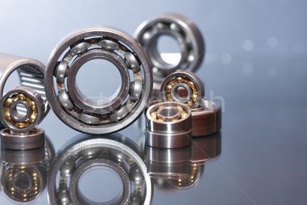 Ball Bearings On Glass Stock photo © cosma