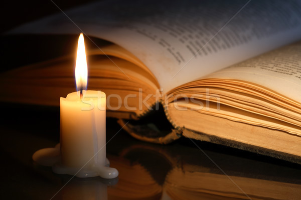 Book And Candle Stock photo © cosma