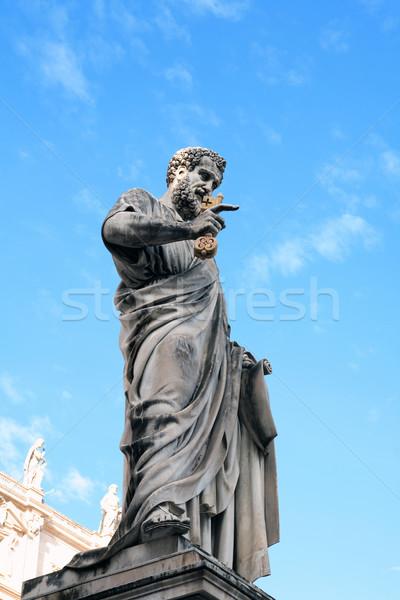 Statue of Saint Peter,Vatican Stock photo © cosma