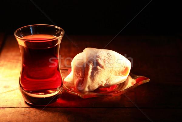 турецкий чай Sweet темно Кубок Сток-фото © cosma