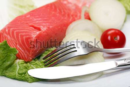 Fish Appetizer Stock photo © cosma