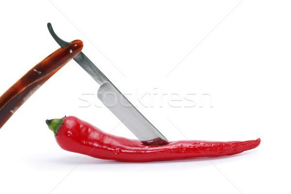 Pepper And Razor Stock photo © cosma
