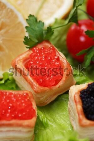 Red Caviar Stock photo © cosma
