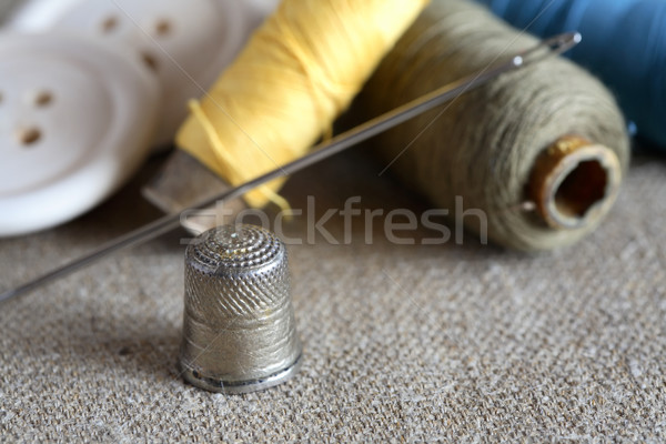 Sewing Items Stock photo © cosma