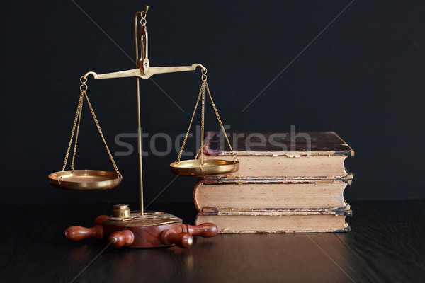 Weight Scale And Books Stock photo © cosma