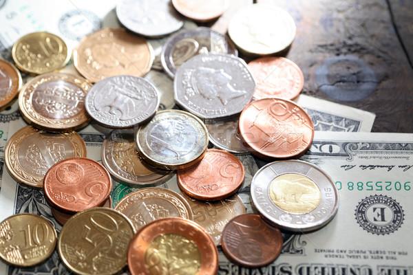 Világ valuta pénzügyi különböző közelkép pénz Stock fotó © cosma