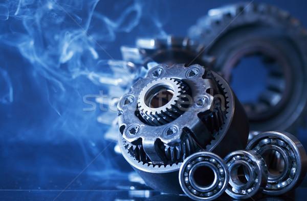 Gears In Smoke Stock photo © cosma