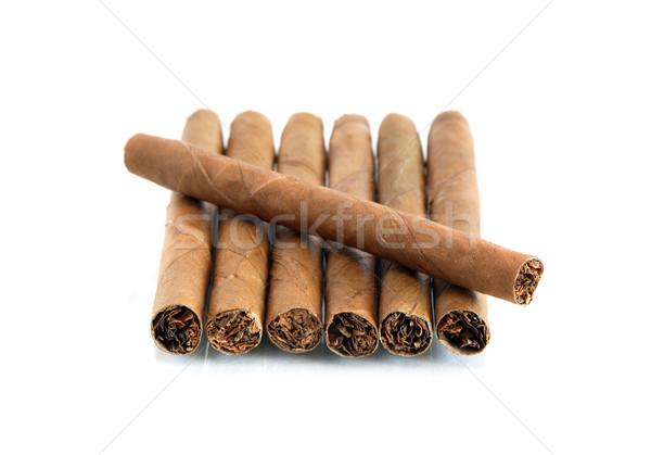 Cigars On White Stock photo © cosma