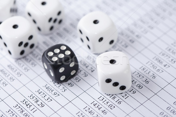 Roll Of The Dice Stock photo © cosma