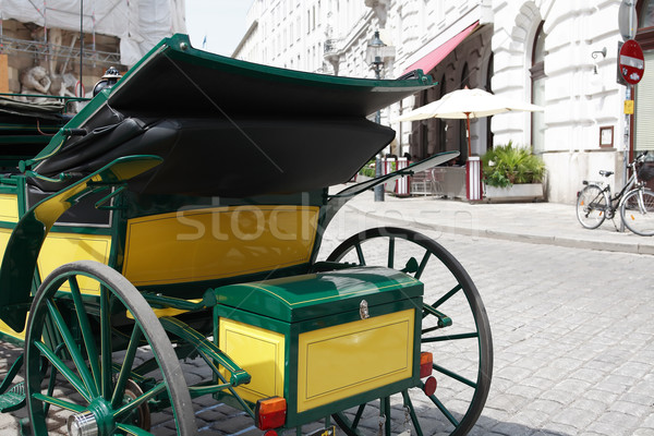 Carriage On The Street Stock photo © cosma