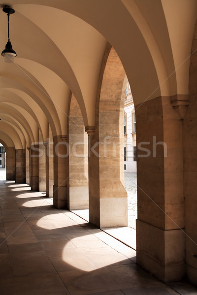 Elegant Gallery At Noon Stock photo © cosma