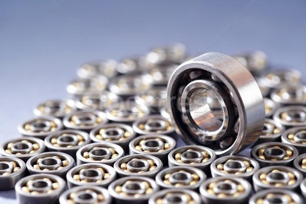 Ball Bearings Background Stock photo © cosma