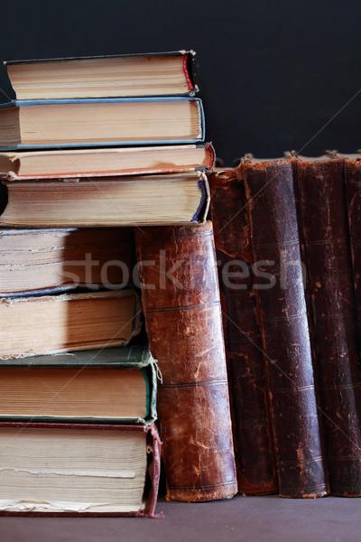 Old Books Set Stock photo © cosma