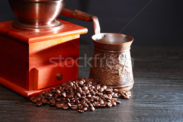 Turkish Coffee Preparation Stock photo © cosma