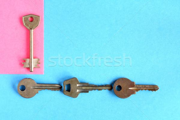 Set Keys Concept Stock photo © cosma