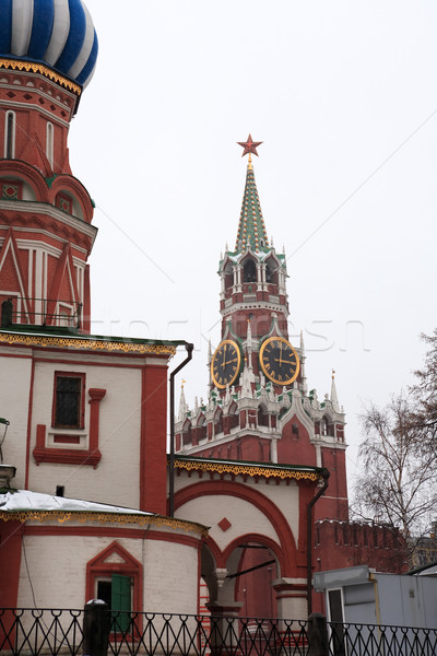 Moskou Kremlin beroemd russisch kerk Stockfoto © cosma