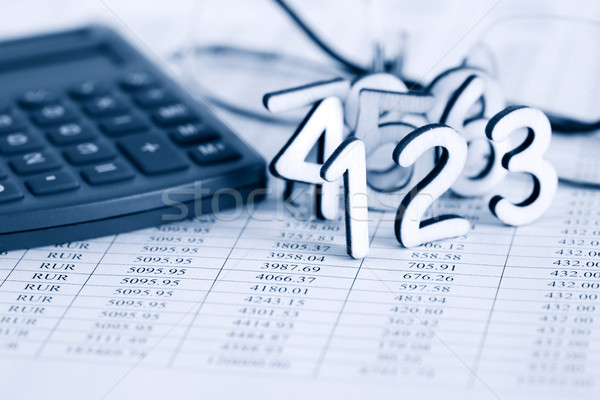 Bookkeeping Concept Stock photo © cosma