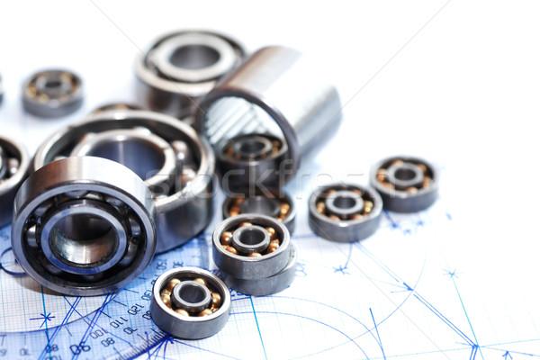 Terv mérnöki kevés labda üzlet terv Stock fotó © cosma