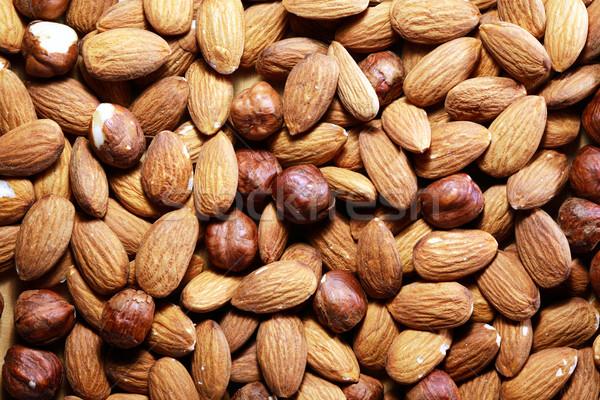 Nuts Background Stock photo © cosma