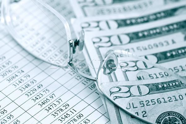 Finanziellen Buchhaltung zwanzig Dollar Bank Stock foto © cosma