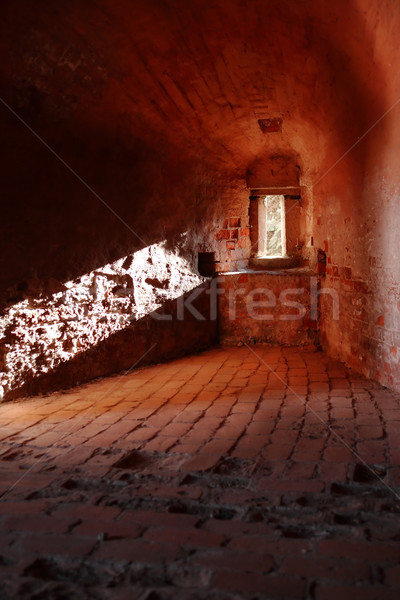 Ancient Fortress Indoors Stock photo © cosma
