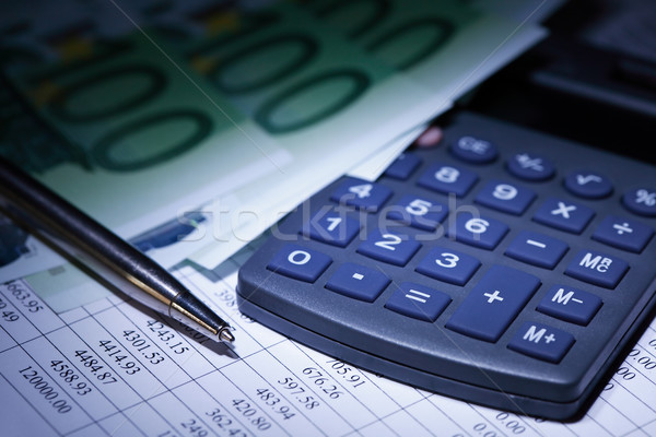 Divided Payments Stock photo © cosma