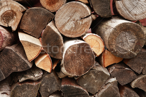 Stack Of Wood Stock photo © cosma