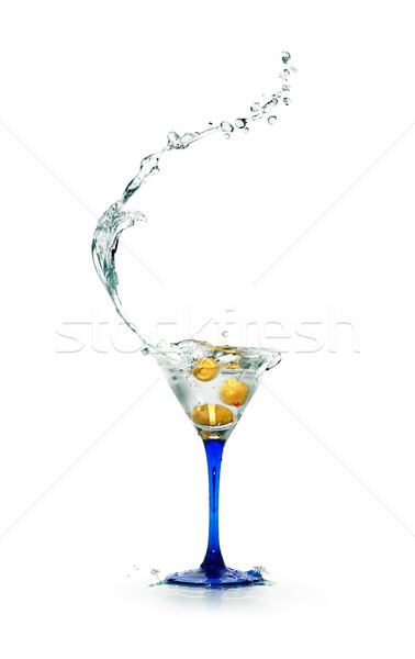 Martini коктейль стакан мартини жидкость Сток-фото © cosma