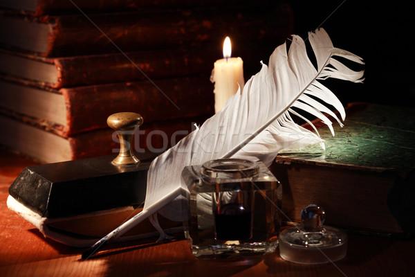 Quill Pen Stock photo © cosma