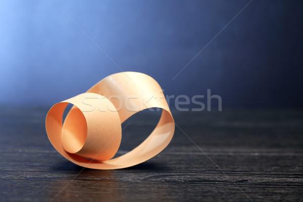 Mobius Strip On Dark Stock photo © cosma