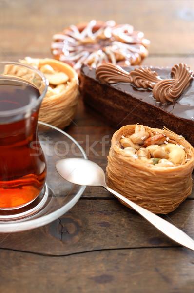 Cakes And Tea Stock photo © cosma
