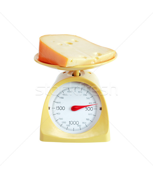 Cheese Weighing Stock photo © cosma
