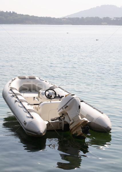 Inflatable Boat Stock photo © cosma