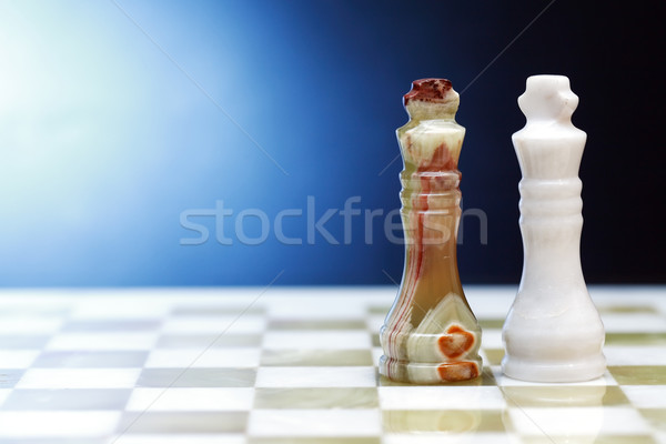 Chess Kings On Dark Stock photo © cosma