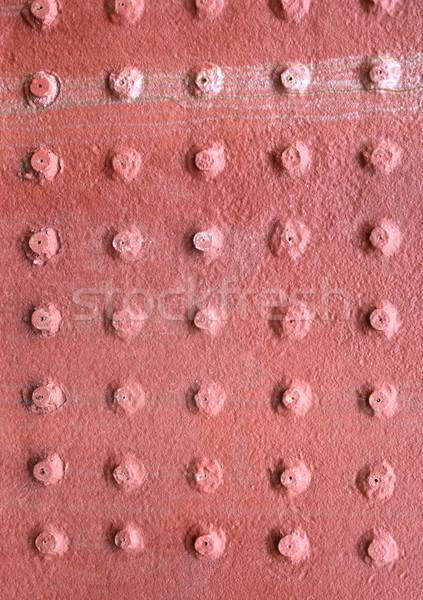 Eski Metal kırmızı doku sanayi Stok fotoğraf © cosma