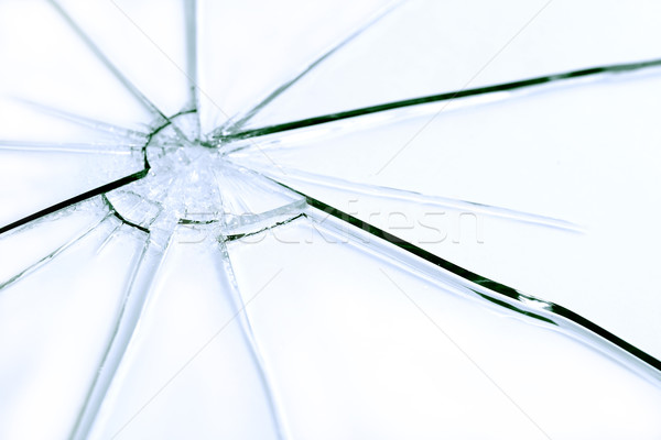Shattered Glass Stock photo © cosma