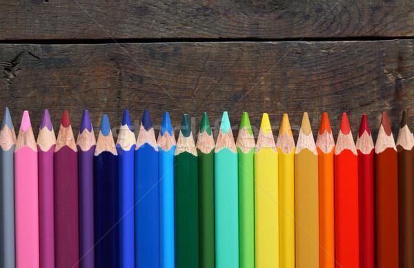 Colored Pencils Stock photo © cosma