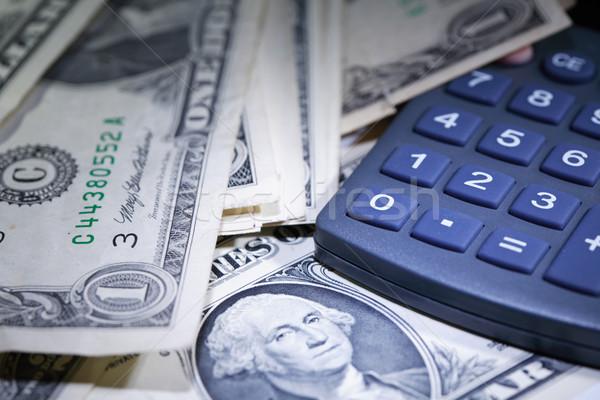 Money And Calculator Stock photo © cosma