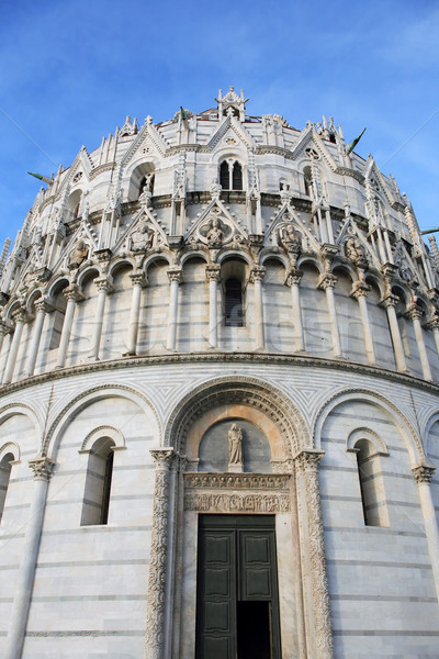 Pisa Baptistery Stock photo © cosma