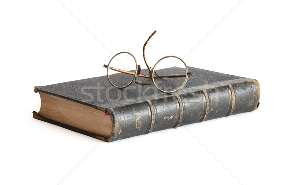 Old Book And Spectacles Stock photo © cosma
