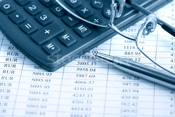 Bookkeeping Tools Stock photo © cosma