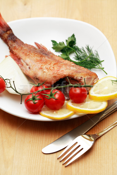 Fried Fish Stock photo © cosma