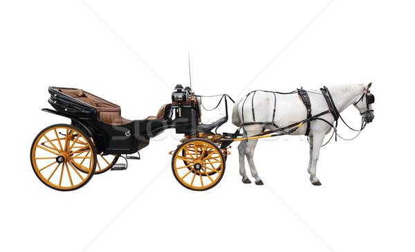 Horse Cart Stock photo © cosma
