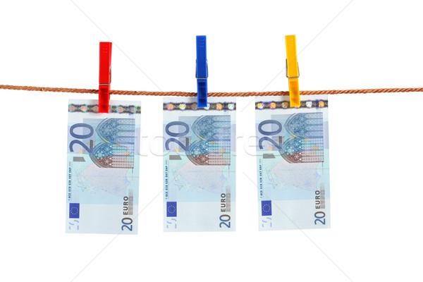 Euro Money Of The Rope Stock photo © cosma