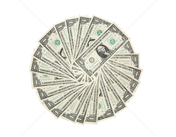 Dollar Circle Stock photo © cosma