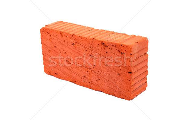 Brick On White Stock photo © cosma