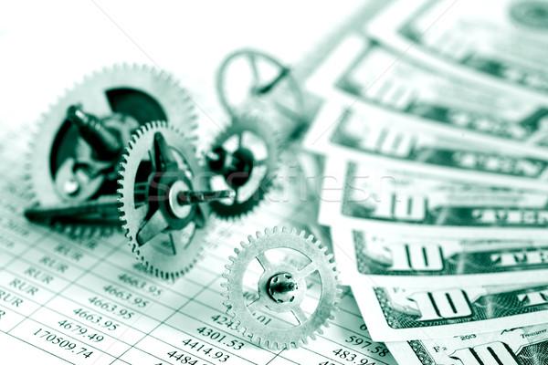 Financial Mechanism Stock photo © cosma