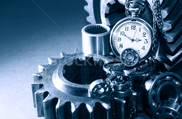 Job Time Stock photo © cosma